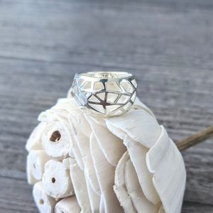 ✨NWOT Sterling Silver 925 Chunky Design Ring✨